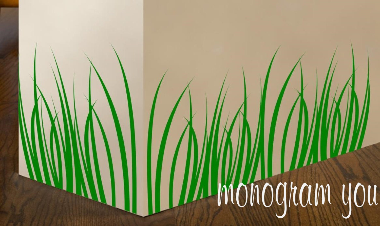 Blades Of Grass Vinyl Wall Decal - Wall decals grass