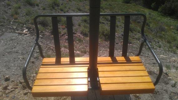 Restored vintage 1960 s crested butte colorado ski lift chair porch