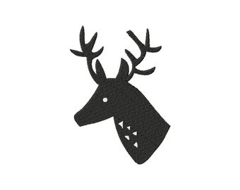 INSTANT DOWNLOAD Shadow Buck Machine Embroidery Design