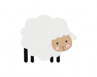 INSTANT DOWNLOAD Sheep Machine Embroidery Design