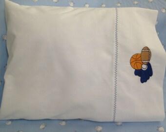 Sports Motif Baby Pillow