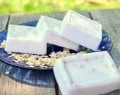 All Natural Organic Lavender Oatmeal Soap