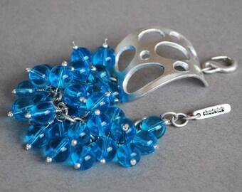 The Water Bubbles Bracelet in Ocean Blue