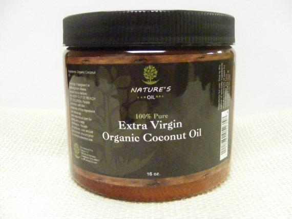 100 pure organic coconut oil