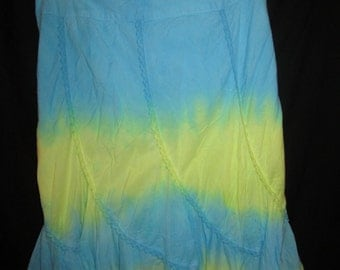 Dyed womens Skirt size 12