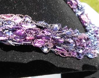 Trellis Necklace / Crochet Necklace Item No. 93