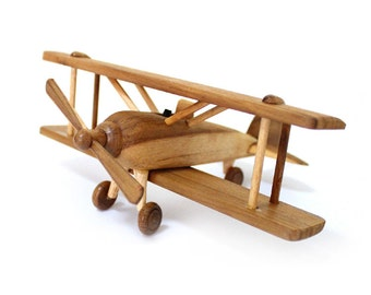 wooden airplane models in Handmade