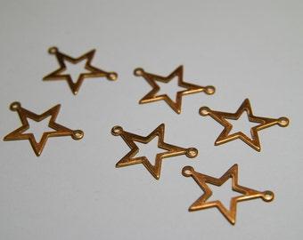 6 Copper Star Connectors