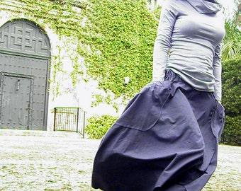 The Wanderlust Skirt in Organic Hemp Jersey. Made to order.
