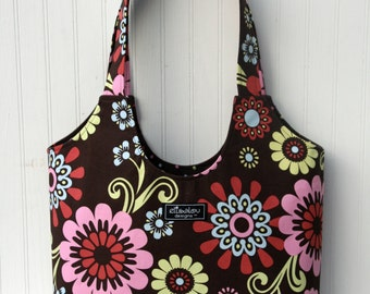Boho Tote Bag- Bloom