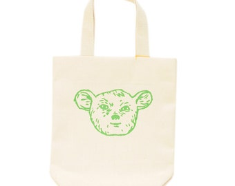Kids Canvas Tote Bag - Sleepy Creature