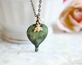 Vintage Traveler - Romantic, Shabby chic, bohemian necklace