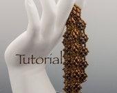 SuperDuo Beadwoven Bracelet Tutorial Sensuous Strands Digital Download