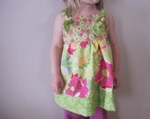 HUGE SALE Girls Pink Flower Knot Tank Tunic Shirt 18 24 months 2 2T