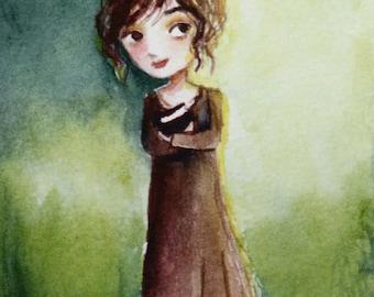 Elizabeth Lizzie Bennet Pride and Prejudice Jane Austen painting