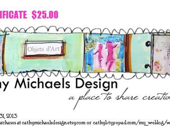 GIFT CERTIFICATE 25.00