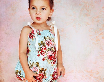 Whimsy Couture Sewing Pattern Tutorial PDF Baby Bubble newborn through 5t w. snap button tape option and 2 fit styles Instant
