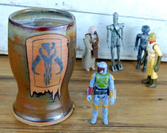 Boba Fett Tumbler or Pint Glass  - Made to Order