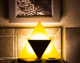 Triforce Light - Wall Mountable, Sleek and stylish