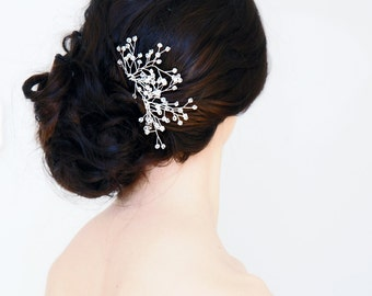 Set of Two Crystal Hair Pins