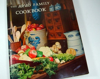 Vintage ideals Family Cookbook, Recipes, 1972, No. 1  (5840)