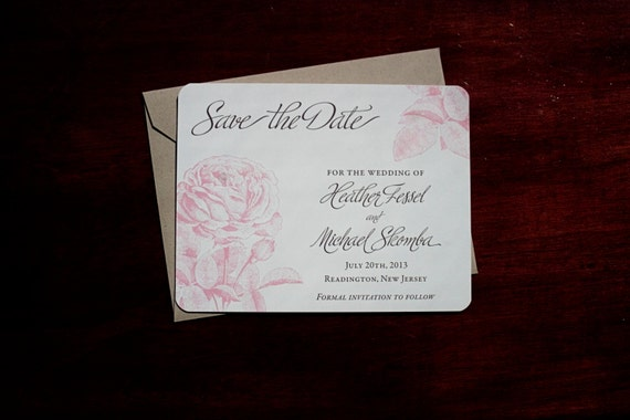 Aberdeen - Save the Date Card