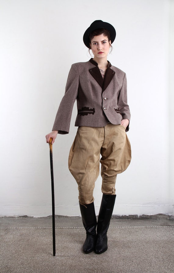 Wwi Jodhpurs Antique Military Pants World War One 1910s