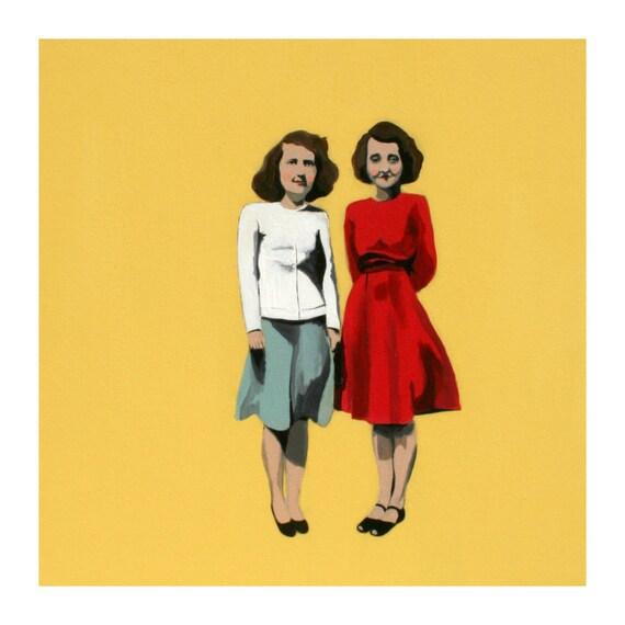 couple painting no.2 (print)