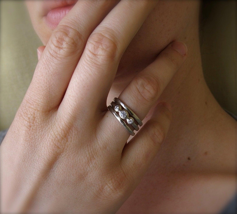 Beautiful Wedding Ring Set Of 3