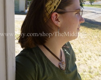 The Jean - Celtic Knot Headband - In Tan