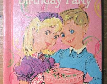 Vintage Children's Book - The Birthday Party
