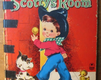 Vintage Children's Book: Scotty's Room