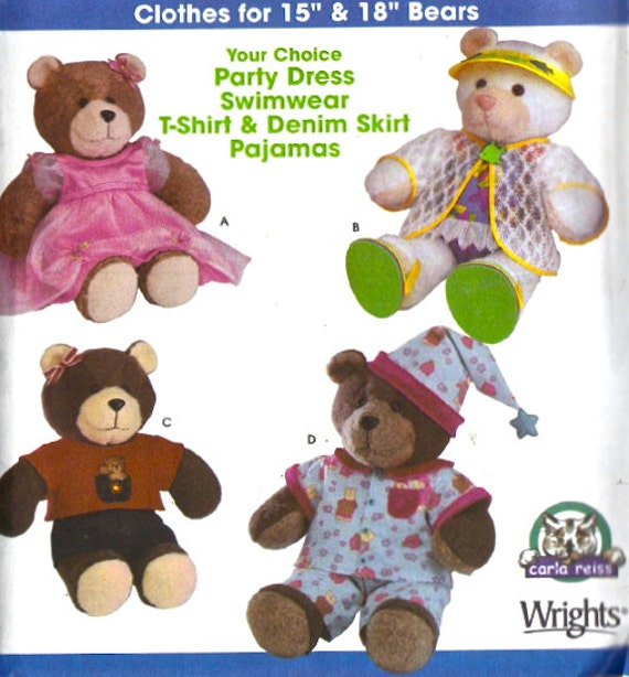 Build A Bear Sewing Patterns