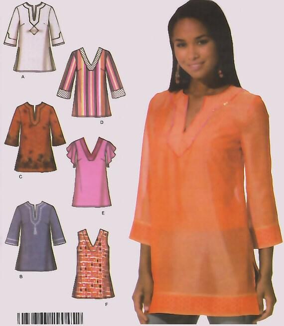 Boho Tunic Pattern Tunic Sewing Pattern 5