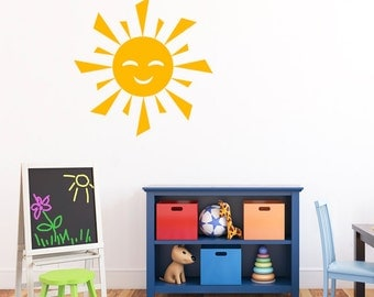 Sun Nursery Wall Decal - Sun Decal  DB159