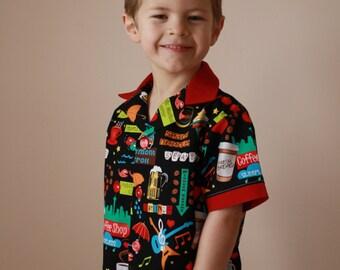 Little Boy's SEATTLE Shirt
