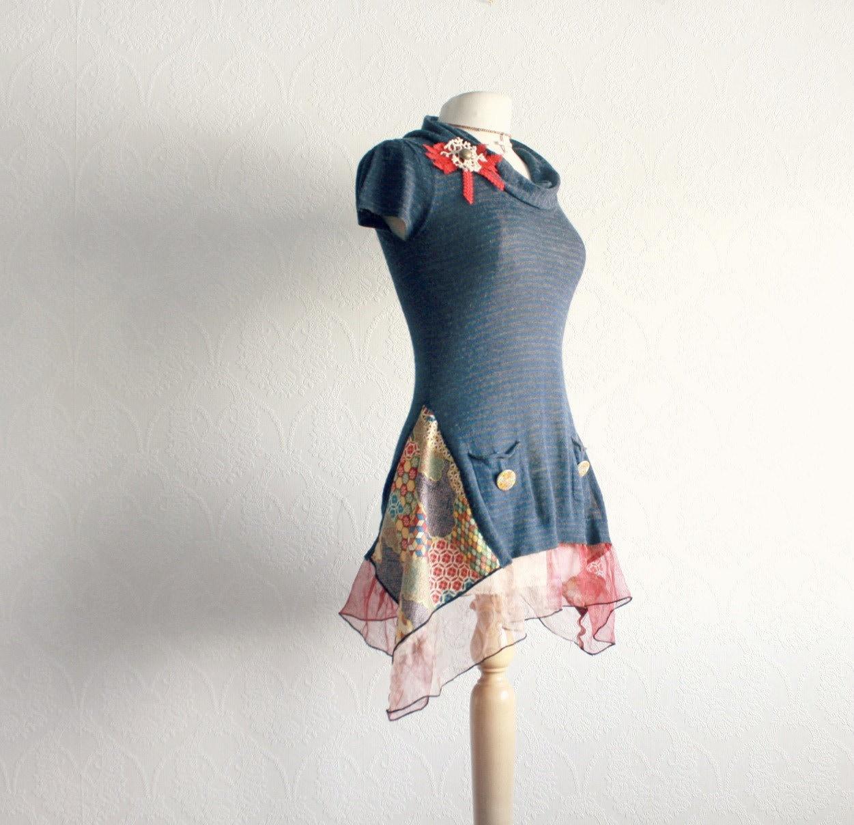Как переделать вязаное платье своими руками