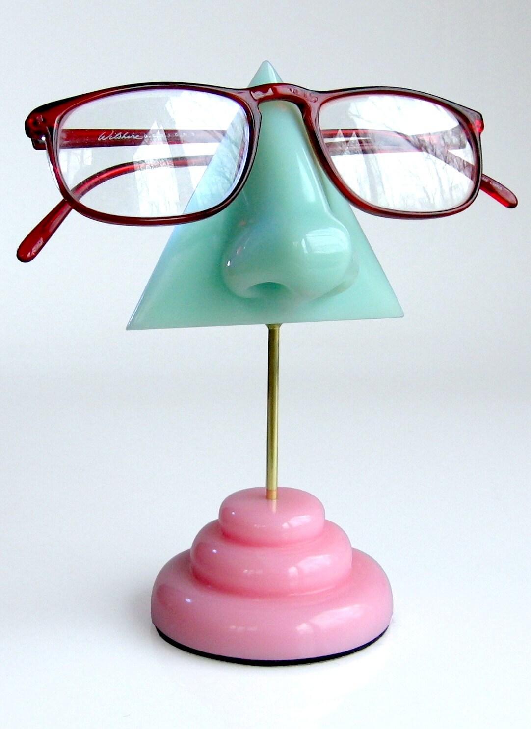 eyeglass holder mint green nose eyeglass stand by