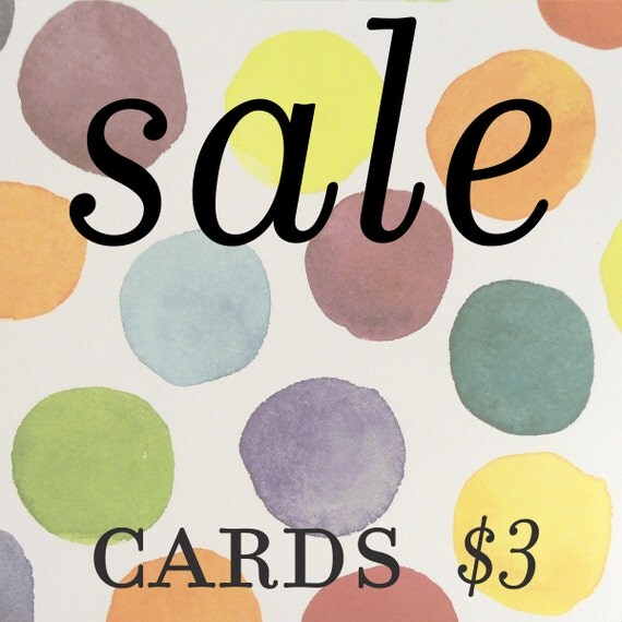 SALE Greeting Cards
