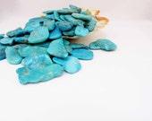 Turquoise  Sleeping Beauty  Chunks 1 chunk Jewelry Supply Necklace Bracelet Supply