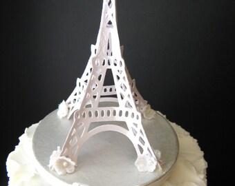 Eiffle Tower Wedding Cake Topper
