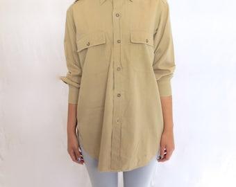 The Khaki Military Shirt