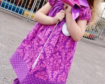 Juvie Moon Designs PDF Download Pattern Girls Boutique Dress TILLY  E Book Tutorial