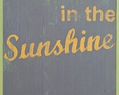 """Walk in the Sunshine  8""""x10"""" art print"""