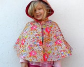 Made to Order Reversible Hello Kitty Waterproof Cape