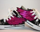 Shoeflies---Glittery Shoe Wings