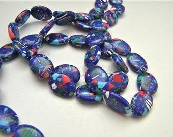 resin beads - 1 strand