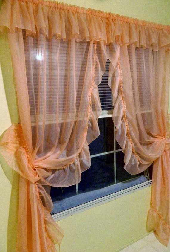 Curtains Ideas 187 Priscilla Curtains With Attached Valance