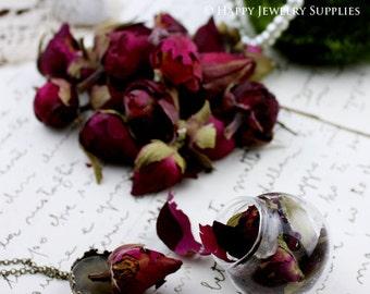 DIY Dry Flower for Glass Bottle Decoration (DT030) - Rose