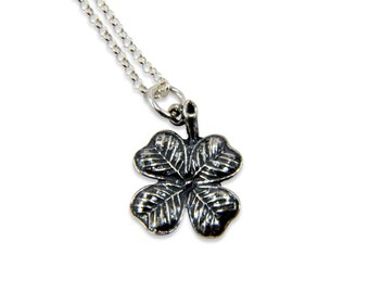 Two for One Sale....50% OFF - Clover Necklace - Sterling Silver Gwen Delicious Jewelry Design